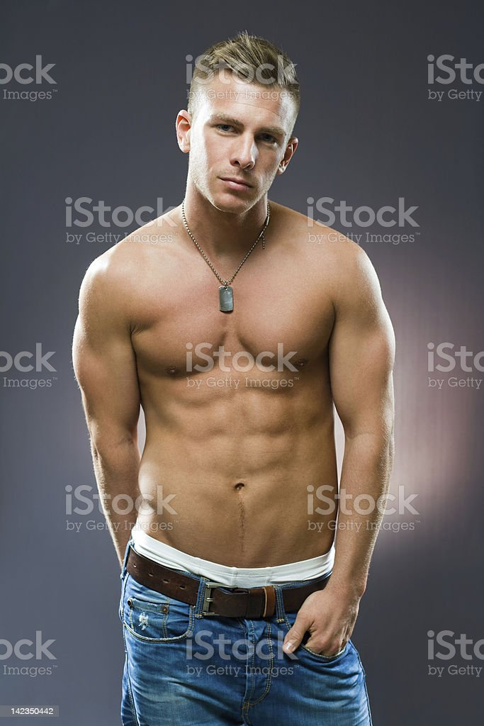 Ripped. royalty-free stock photo