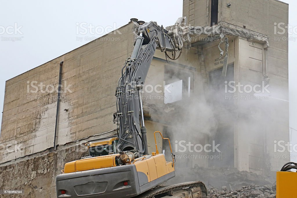 Ripping Away stock photo