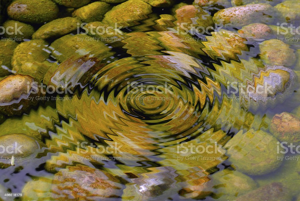 ripple water stock photo