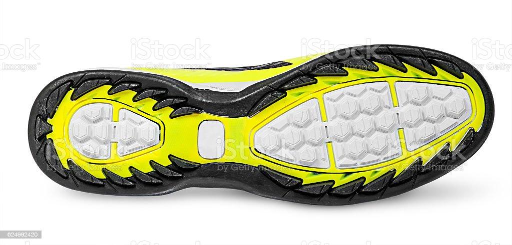 Rippled shoe sole stock photo