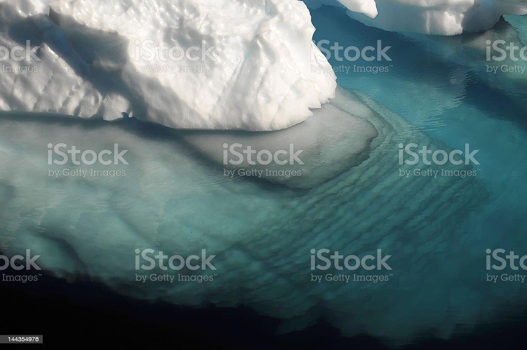 波打つ水中 ice ロイヤリティフリーストックフォト