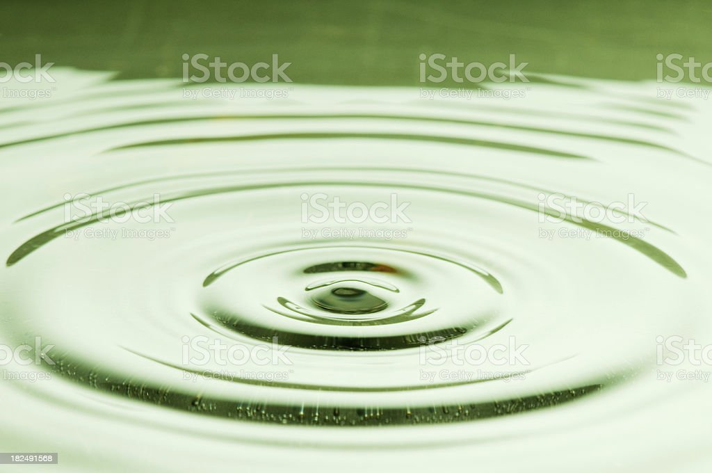 Rippled Water royalty-free stock photo