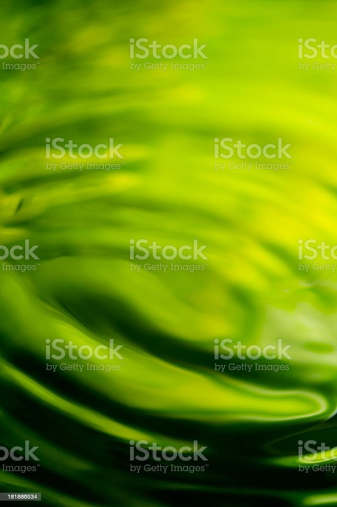 Rippled water surface royalty-free stock photo