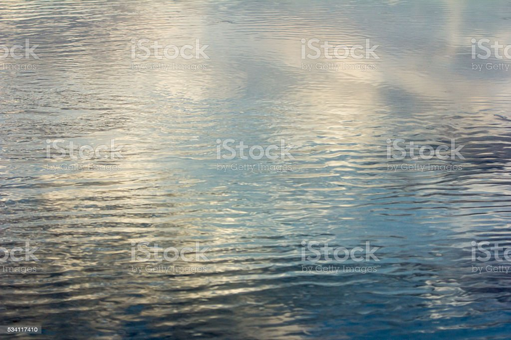 Ripples and Reflections stock photo