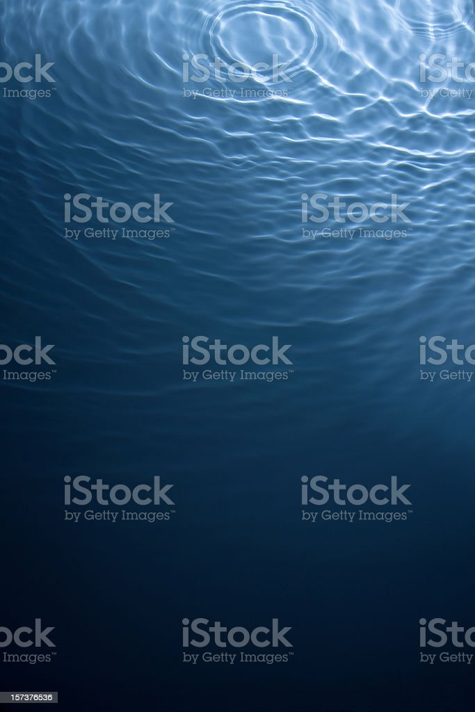 Rippling deep water background (see below for more liquid pictures) stock photo