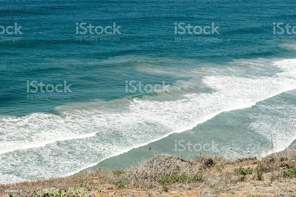 Riptides at Torrey Pines stock photo