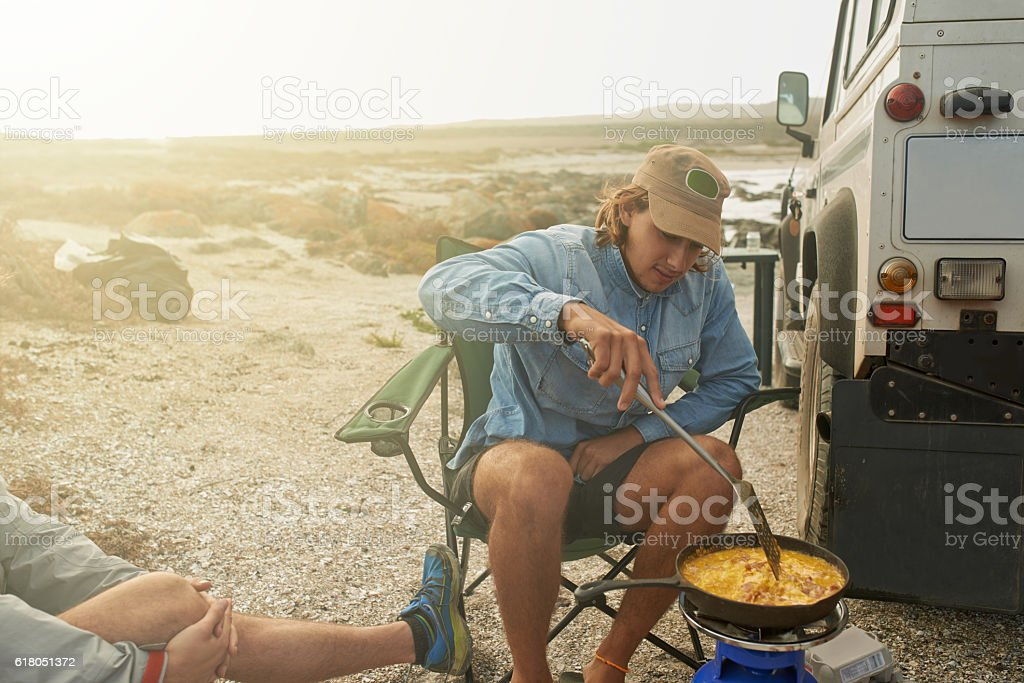 Rise and shine, it's breakfast time! stock photo