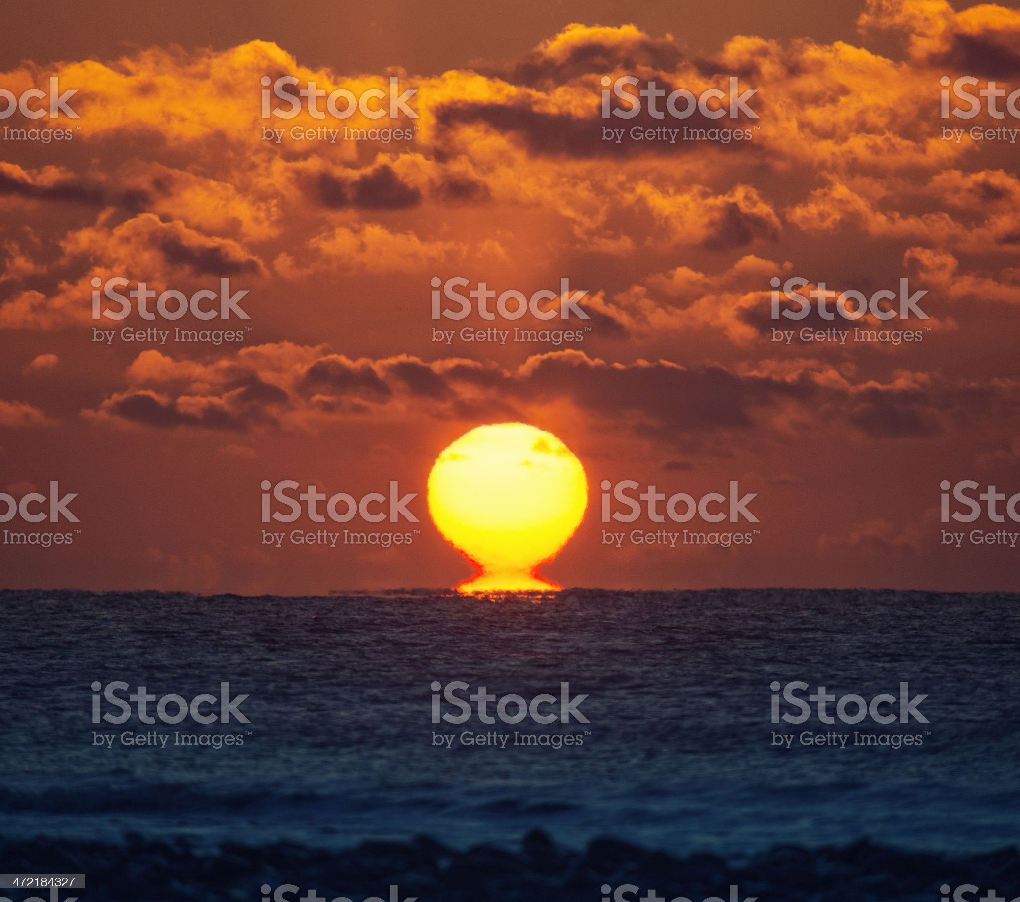 Rise of the Estruscan Sun royalty-free stock photo