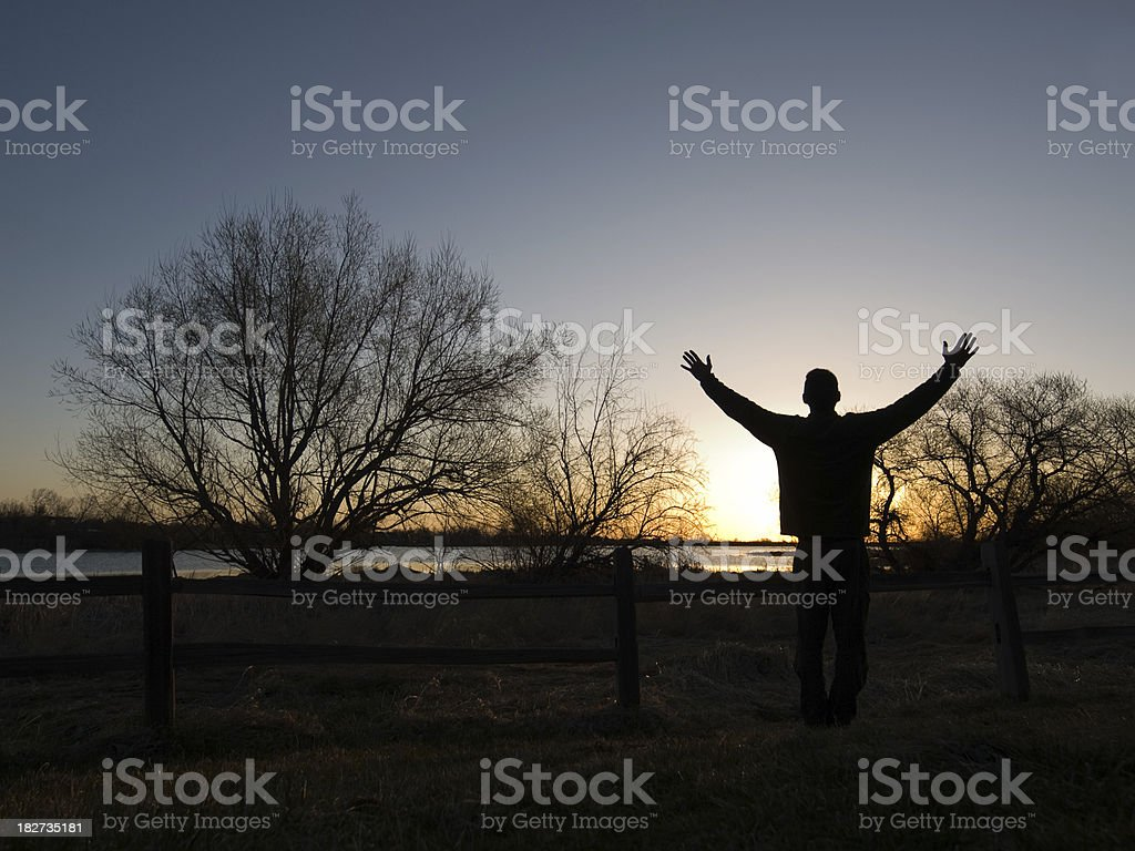 Rise Up royalty-free stock photo