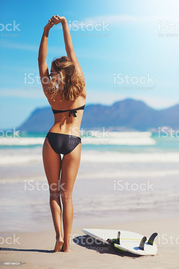 Rise with the tide stock photo