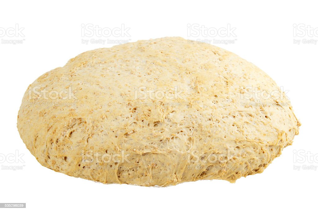 Risen dough royalty-free stock photo