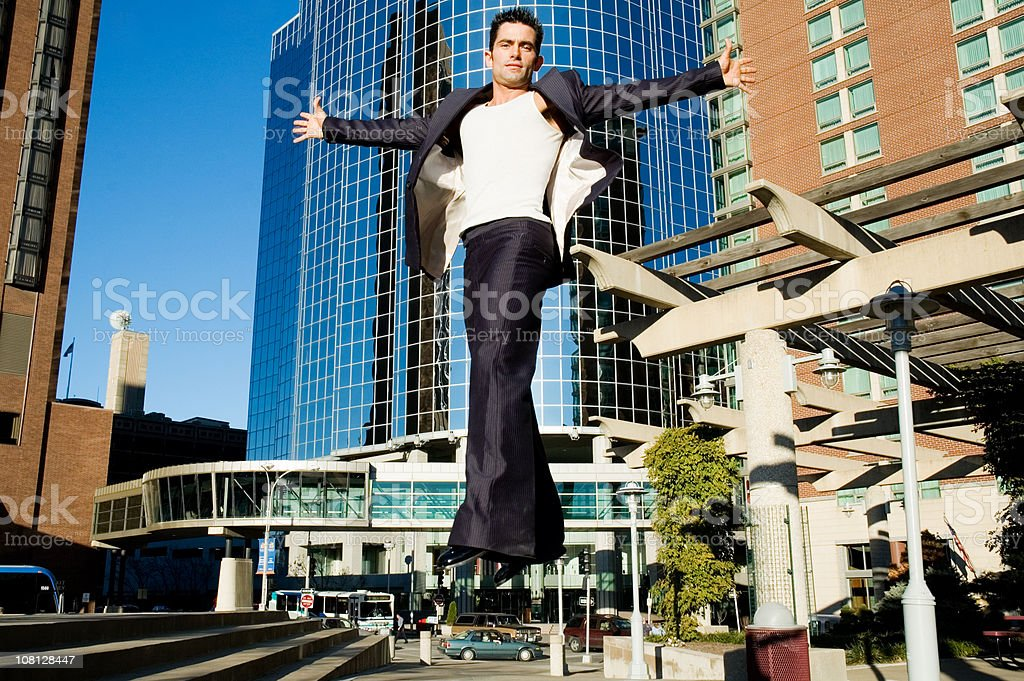 Rising Above it. stock photo