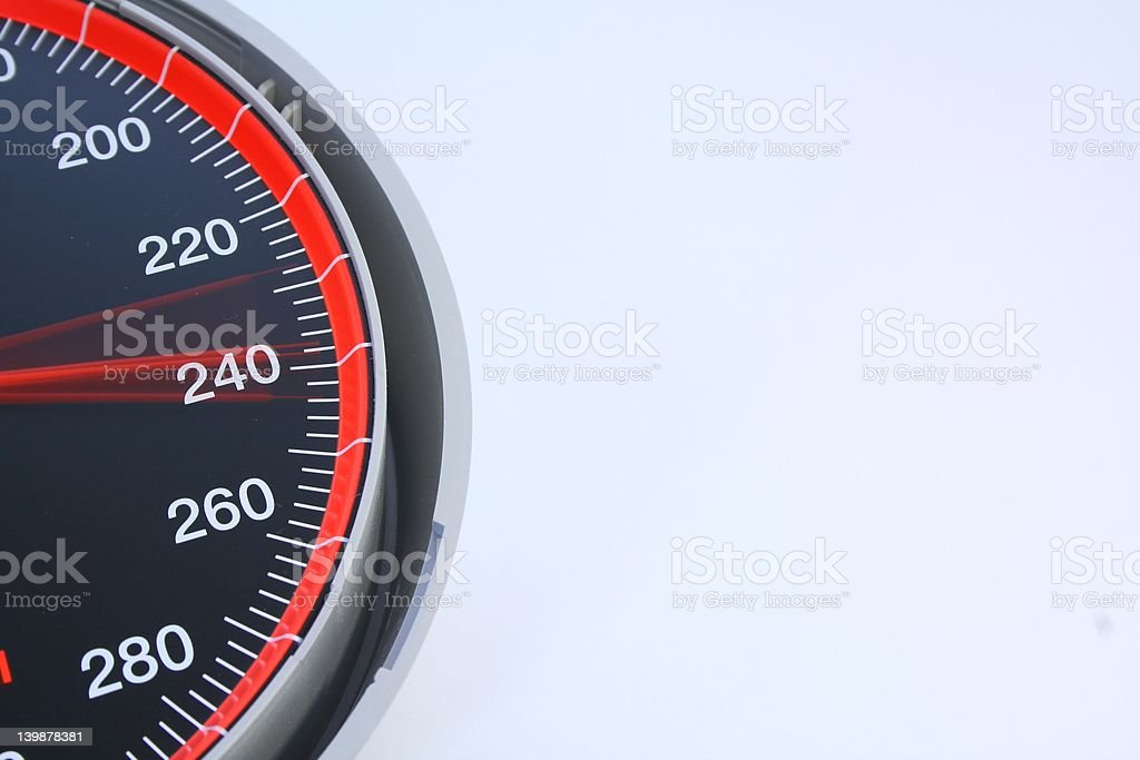 Rising blood pressure stock photo