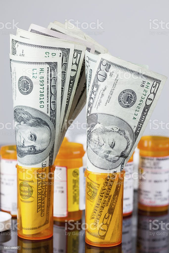 Rising Cost of Healthcare royalty-free stock photo