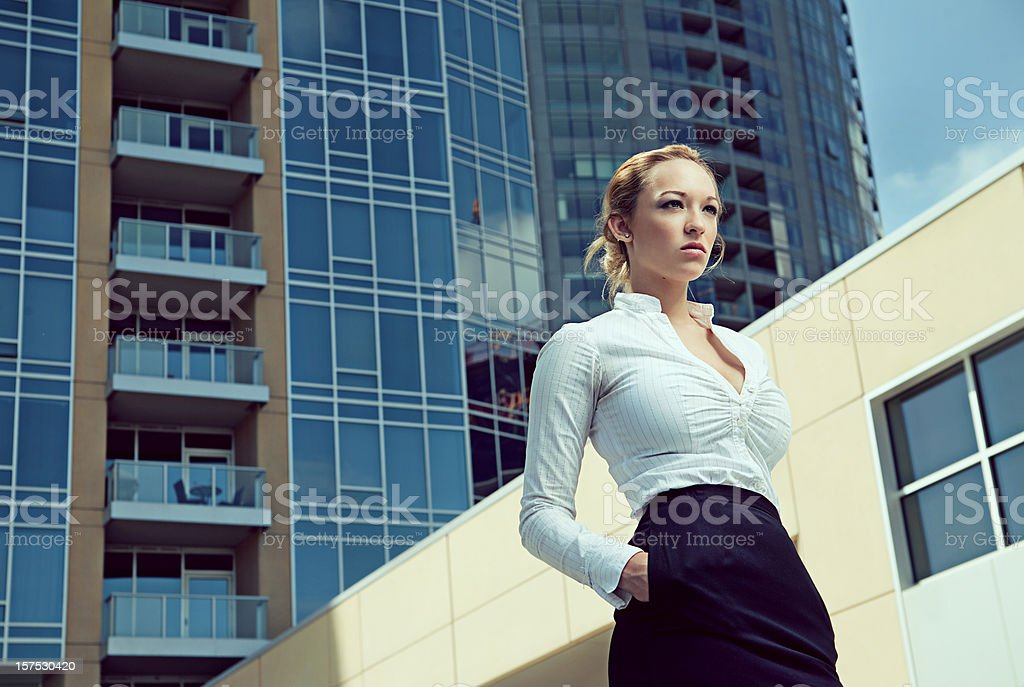 rising executive stock photo