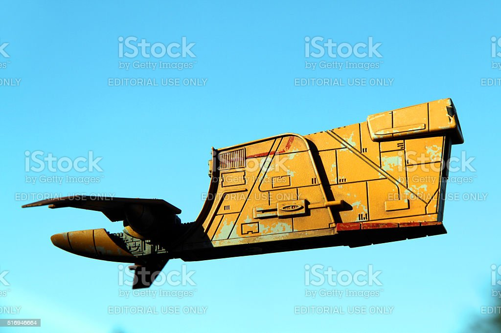 Rising Freighter stock photo