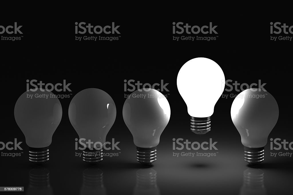 Rising Idea stock photo