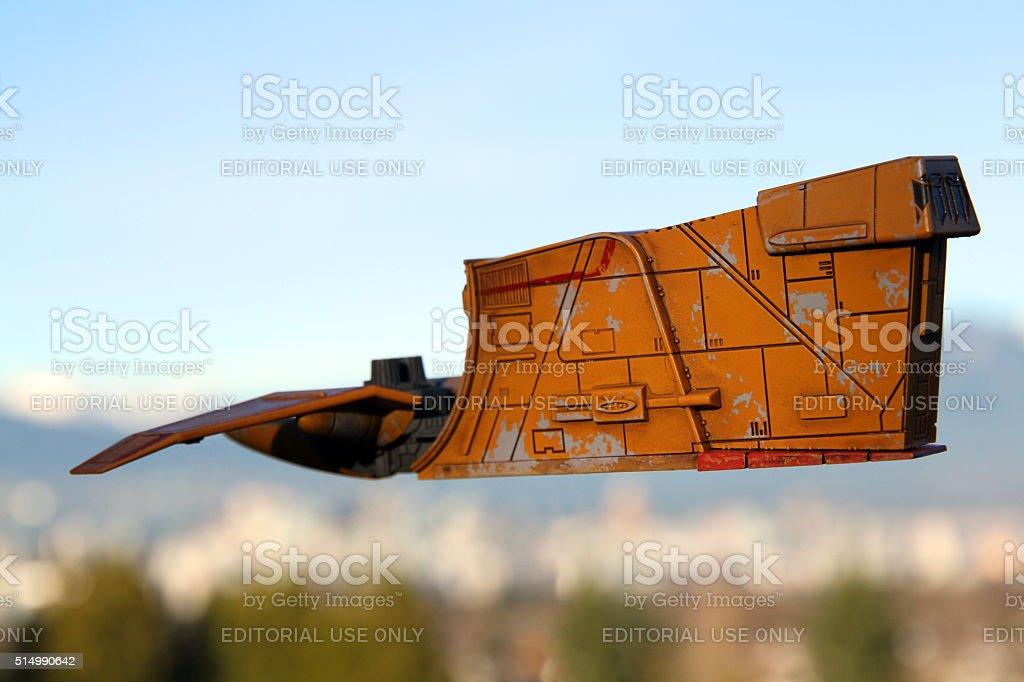 Rising Ship stock photo