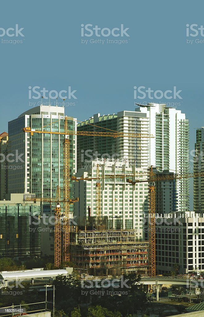 rising up miami stock photo