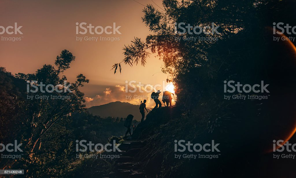 Rising up stock photo