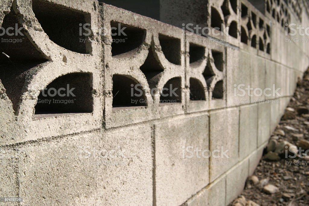 Rising wall royalty-free stock photo