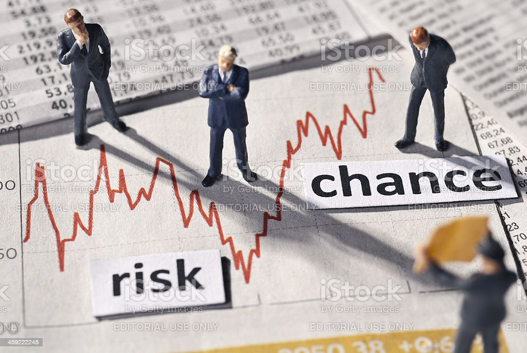 Risk and Chance royalty-free stock photo