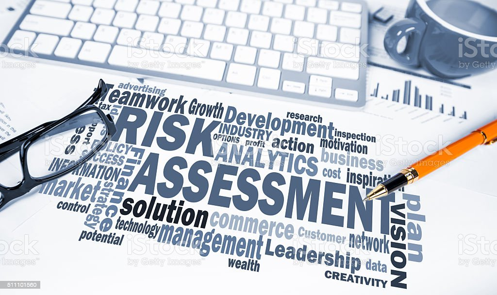 risk assessment stock photo