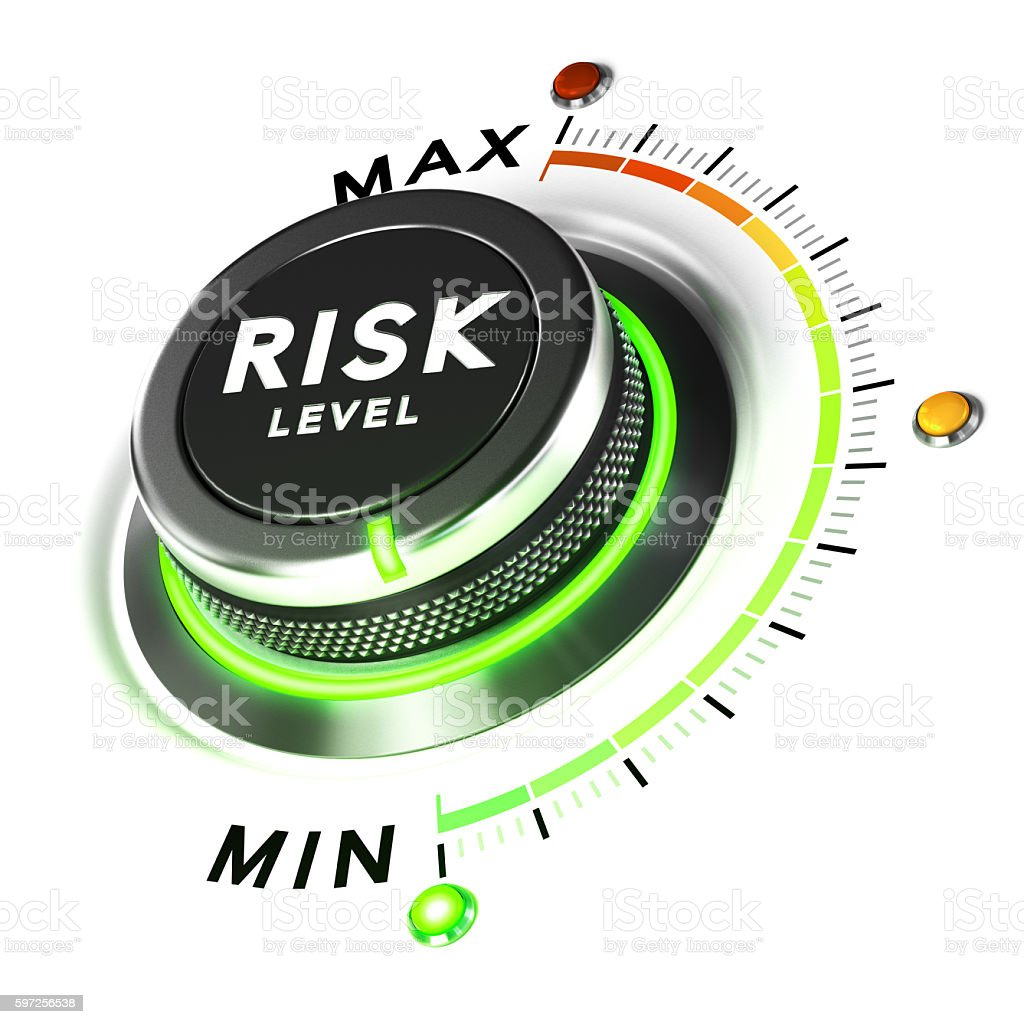 Risk Control, Finance Concept stock photo