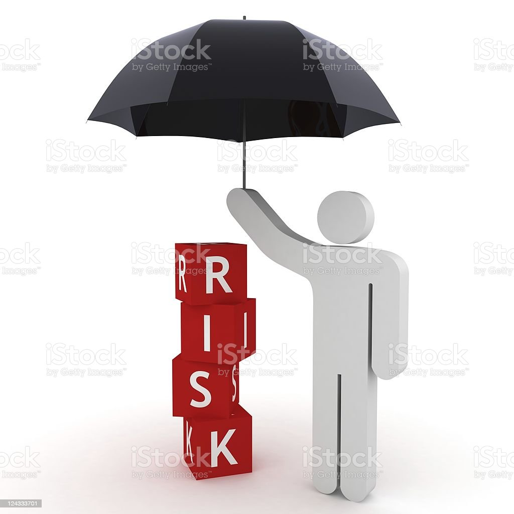 Risk Insurance stock photo
