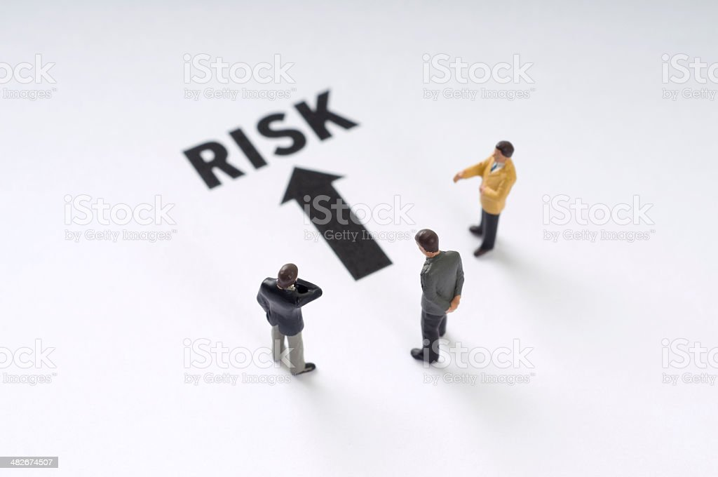 Risk royalty-free stock photo