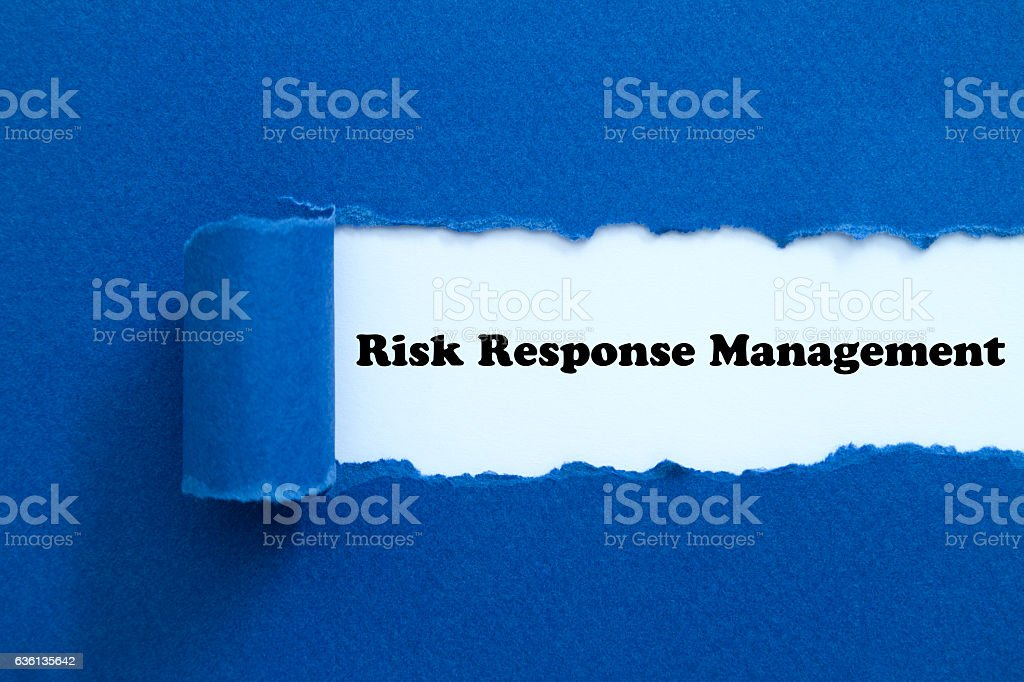 Risk Response Management stock photo