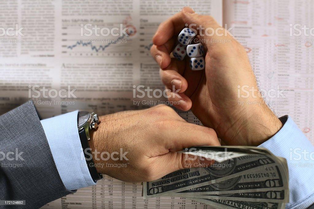 Risky Finance royalty-free stock photo