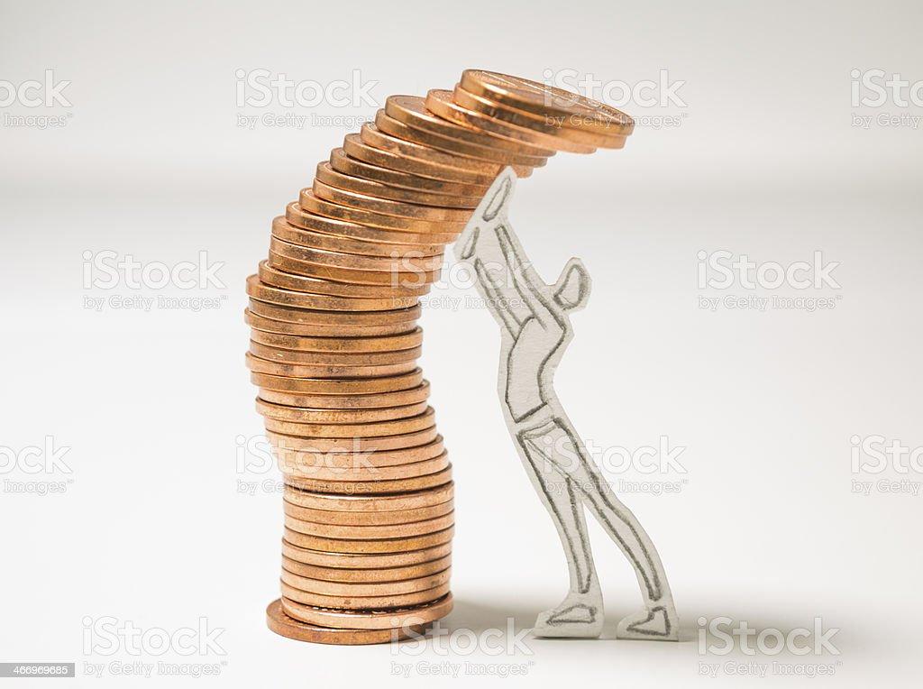 risky finance stock photo