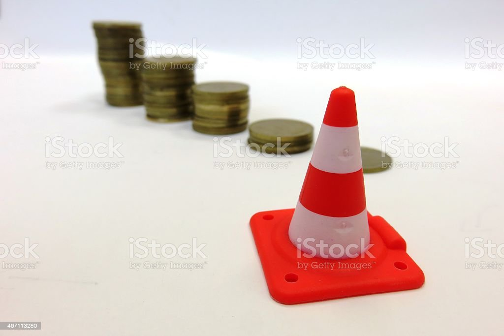 risky investment stock photo
