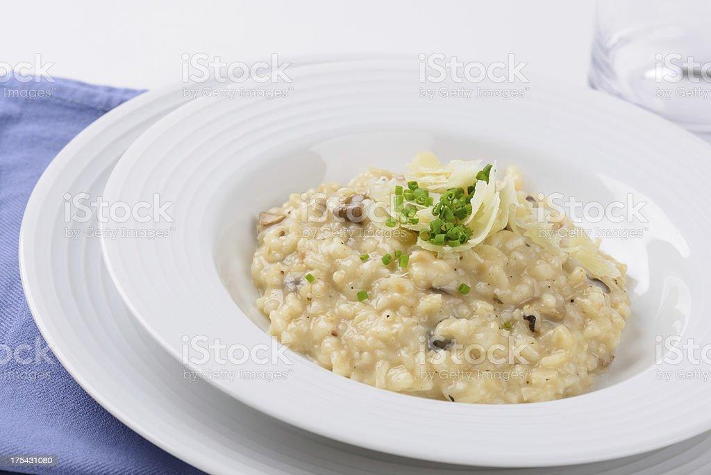 Risotto Dish stock photo