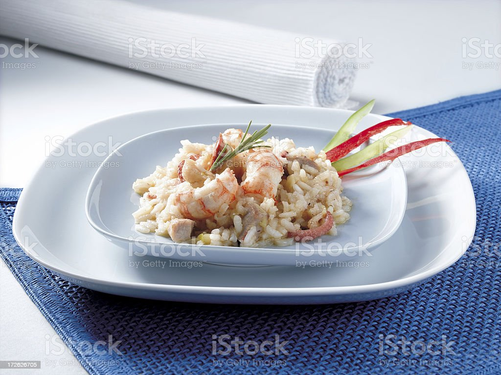 Risotto royalty-free stock photo