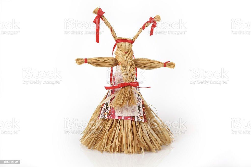Rissian handmade doll Koza royalty-free stock photo
