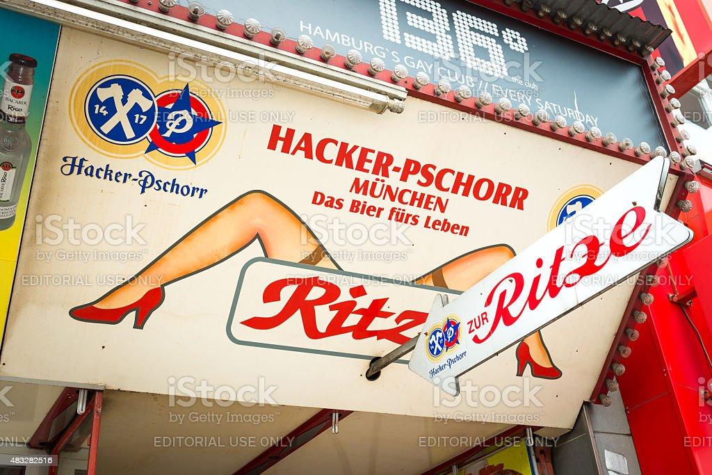 Ritze Hamburg stock photo