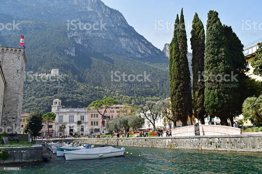 Riva del Garda stock photo