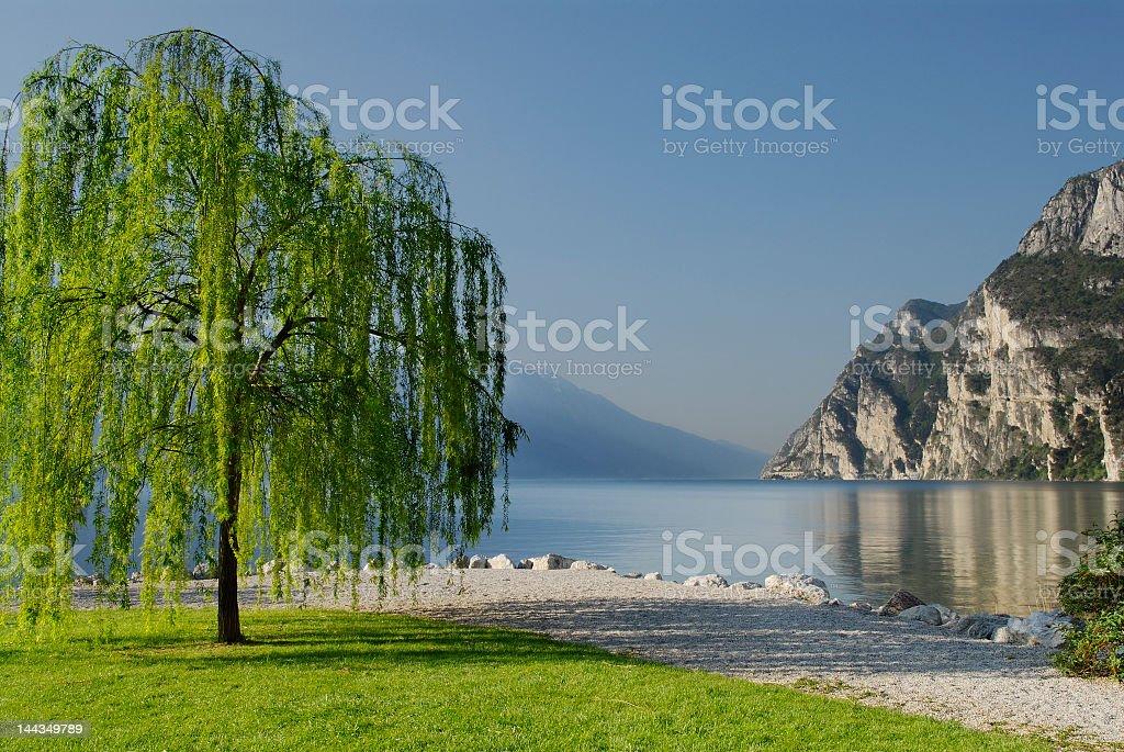 Riva Del Garda - Italy stock photo