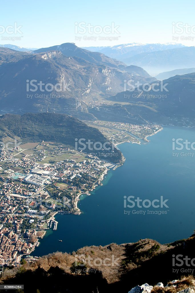 Riva del Garda. Lago di Garda, Italy. stock photo