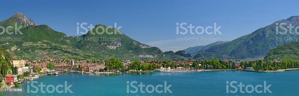 Riva Del Garda (Italia) stock photo