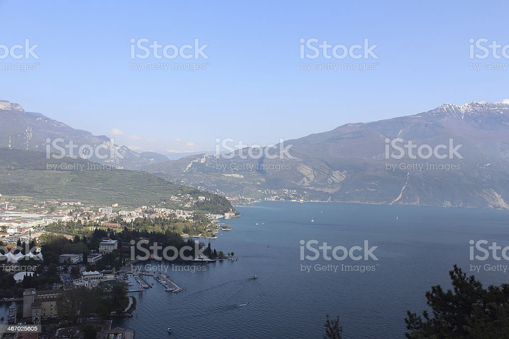 Riva Del Garda royalty-free stock photo
