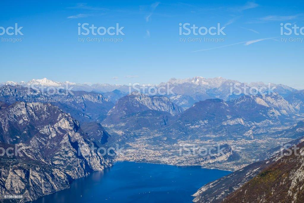 Riva del Garda, Trentino, Italy stock photo