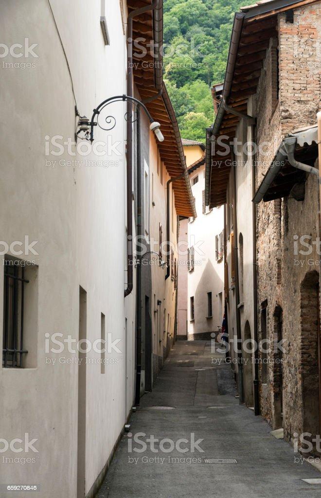 Riva San Vitale (Ticino, Switzerland) stock photo