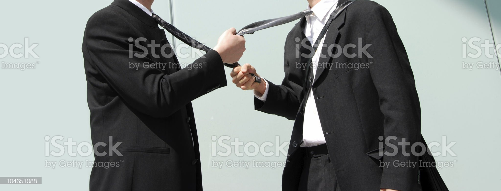 Rivalry royalty-free stock photo