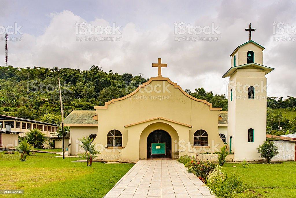 Rivas Catholic Church stock photo