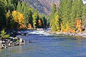 River Autumn Colors in WA