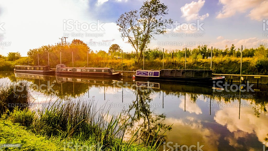 river avon bidford uk stock photo