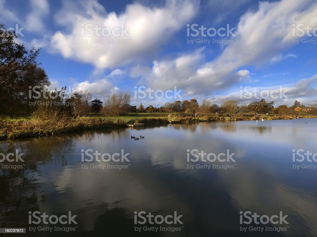 river avon warwick stock photo